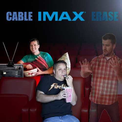 marry affair kill, cable imax erase, baconsale, baconsale podcast, best gaming podcasts, best movie podcast, movie podcast